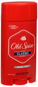 Old Spice Deodorant, Stick, Original Scent, 3.25 oz