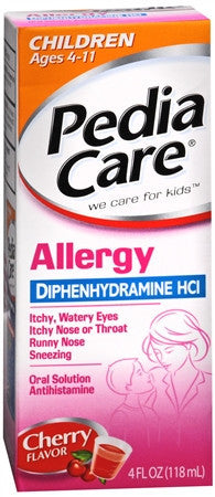 Pediacare Allergy, 4 oz