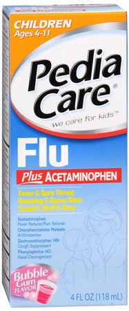 PediaCare Children's Fever Reducer Plus Flu