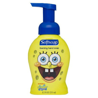 Softsoap Foaming Hand Soap, Spongebob, 8.5oz