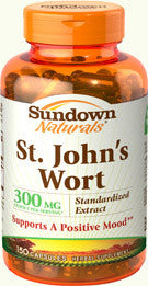 Sundown St. Johns Wort 300mg, 150 capsules