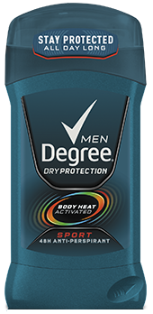 Degree Men Anti-Perspirant Deodorant, Invisible Solid, Sport, 2.7oz