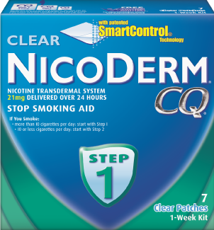 Nicoderm CQ Step 1, 14 patches