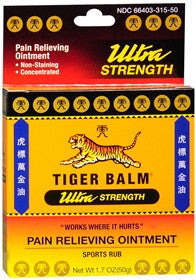 Tiger Balm Ultra Strenght Pain Relieving Ointment, 1.7oz