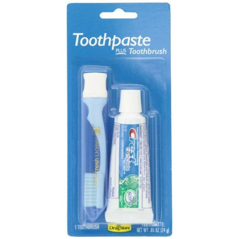 Crest Complete Toothpaste and Toothbrush Kit