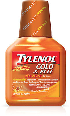 Tylenol Cold & Flu Severe Warming Liquid