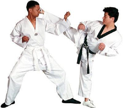 Tae Kwon Do V-Neck Uniform Gi with White Belt - Sedroc Sports