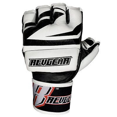 Revgear Deluxe Pro MMA Gloves - Black - Sedroc Sports