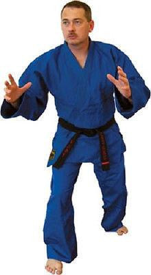 Blue Kimono Jiu Jitsu Judo Uniform Gi Youth & Adult Student Sizes - Sedroc Sports