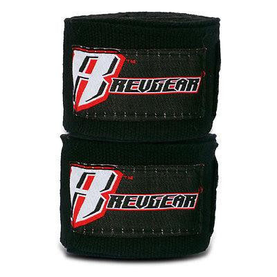 "Revgear MMA Mexican Style Handwraps Boxing Hand Wraps 180"" - Black"
