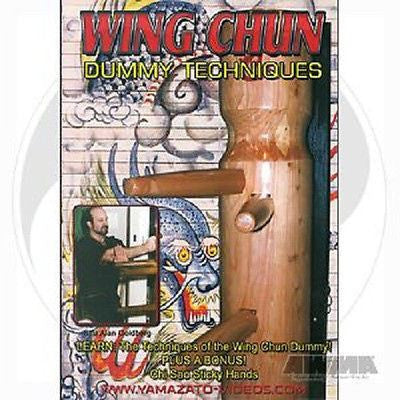 Wing Chun Wooden Dummy Techniques Training DVD New