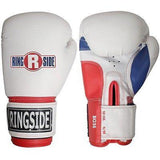 Ringside Boxing Pro Style Training Gloves - White