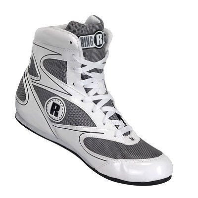 Ringside Diablo Low Top Boxing Shoes - White - Sedroc Sports