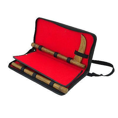 Kama Briefcase Leather Carrying Travel Case - Sedroc Sports