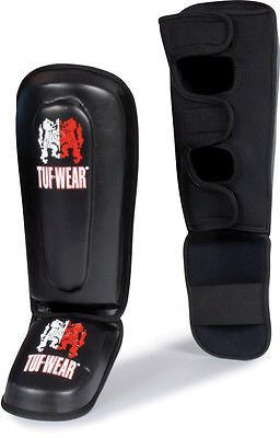 Tuf Wear MMA Striking Shin Guards Sparring Insteps