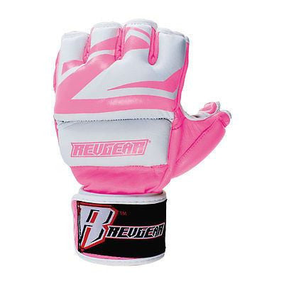 Revgear Womens Deluxe Pro MMA Glove - Pink - Sedroc Sports
