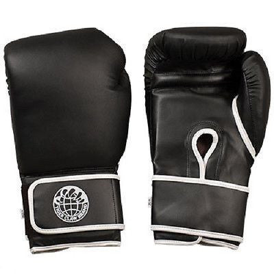Tiger Claw Kickboxing Training Gloves - Black - 12 oz