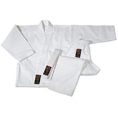 ProForce Karate Uniform Gi Martial Arts - White 00-8
