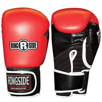 Ringside Boxing IMF Tech Bag Gloves - 14 oz. - Red - Sedroc Sports