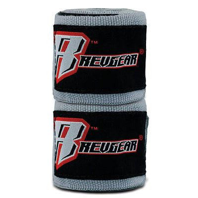 "Revgear MMA Mexican Style Handwraps Boxing Hand Wraps 180"" - Granite Grey - Sedroc Sports"