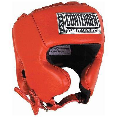 Contender Fight Sports Boxing Competition Headgear - Red - Sedroc Sports