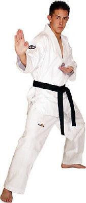 Elite Tae Kwon Do Uniform Gi V-Neck Adult & Child Sizes 000-8 - TKD White - Sedroc Sports