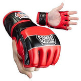 Combat Sports MMA Competition Fight Gloves - Red - Sedroc Sports