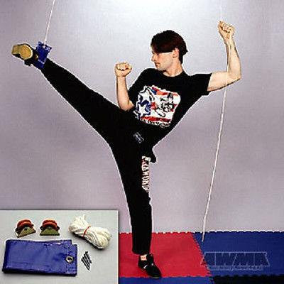 Cable Pulley Leg Stretcher Gymnastics Martial Arts Karate Stretching Training - Sedroc Sports
