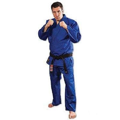 ProForce Judo Uniform Gi with Belt Youth Adult - Blue - Sedroc Sports