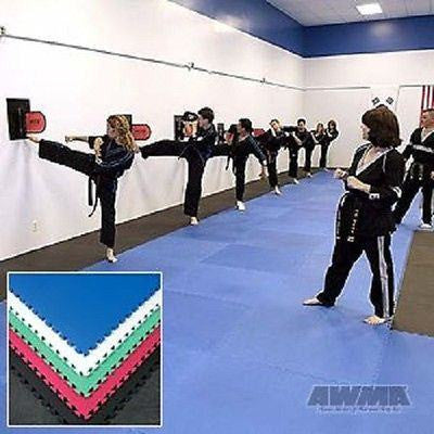 5 Martial Arts Jigsaw Mats MMA Wrestling 50 sq ft. Set of 5 - Sedroc Sports