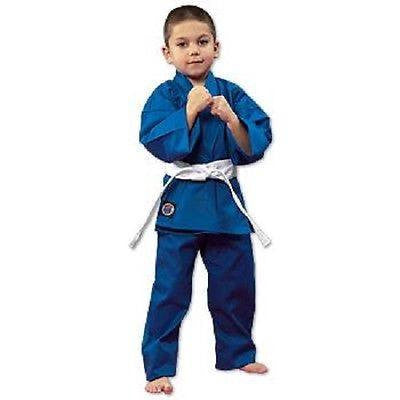 ProForce Lightweight Student Karate Uniform Gi w/ White Belt Elastic Drawstring - Sedroc Sports