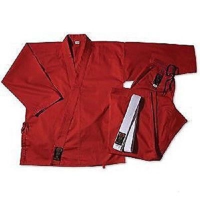 ProForce Karate Uniform Gi - Red - Sedroc Sports