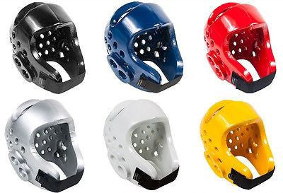 Pro Spar Karate Headgear Taekwondo Training Head Guard Child Youth & Adult