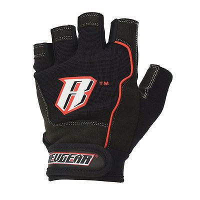 Revgear Weight Lifting Gloves with Wrist Strap Padded Gym Fitness Bodybuilding