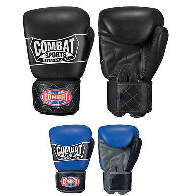 Combat Sports Muay Thai-Style Boxing Training Gloves - Sedroc Sports