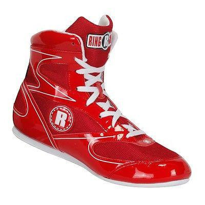 Ringside Diablo Low Top Boxing Shoes - Red - Sedroc Sports