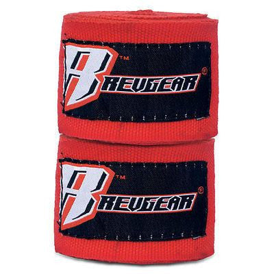 "Revgear MMA Mexican Style Handwraps Boxing Hand Wraps 180"" - Red - Sedroc Sports"