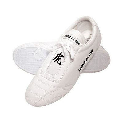 Tigerclaw Martial Arts Shoes Low Top Karate Kung Fu Training Sneakers - White - Sedroc Sports