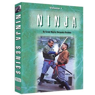 Ninja Style Kenjutsu Ninjitsu Training DVD Vol. 1 & 2 - Sedroc Sports