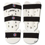 Proforce Karate Shin Guards Taekwondo Instep Guard - White