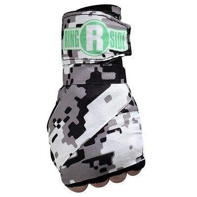 Ringside Boxing Apex Mexican Handwraps - Camo Black / White / Green - Sedroc Sports