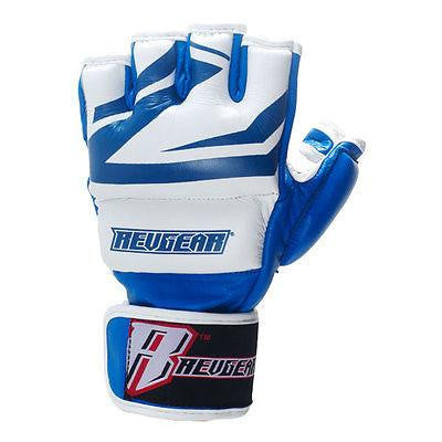 Revgear Deluxe Pro MMA Gloves - Blue - Sedroc Sports