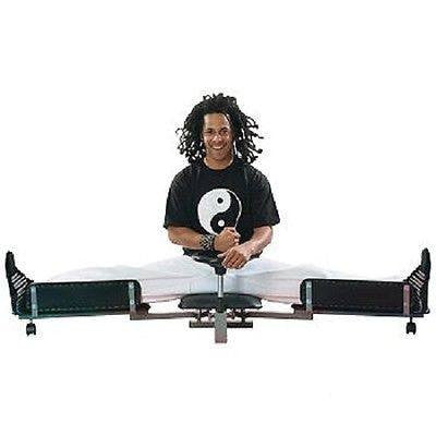 Leg Stretcher Machine MMA Stretch Training Martial Arts Jiu Jitsu Flexability - Sedroc Sports