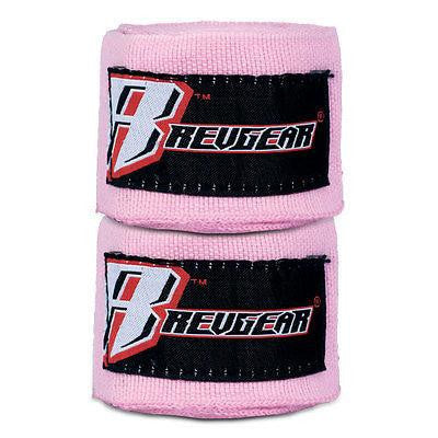 "Revgear MMA Mexican Style Handwraps Womans Boxing Hand Wraps 180"" - Pink"