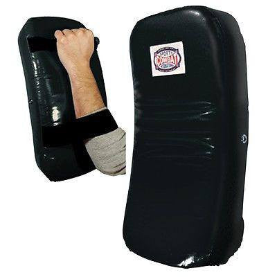 Combat Sports Curved Muay Thai Kick Pads - Pair - Sedroc Sports