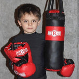 Ringside Youth Boxing Set, Gloves, Headgear, Punching Bag - Kids Training Gear - Sedroc Sports