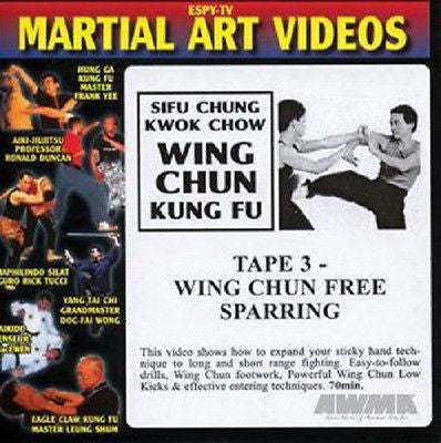 Wing Chun Sparring Training DVD Martial Arts Kung Fu