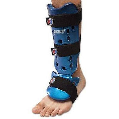 Proforce Karate Shin Guards Taekwondo Instep Guard - Blue - Sedroc Sports