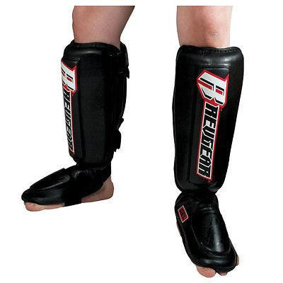 Revgear Defender MMA Gel Sparring Shin Guards - Sedroc Sports