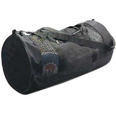 Plain Black Mesh Gym Gear Duffel Bag Martial Arts Equipment Karate Supplies TKD